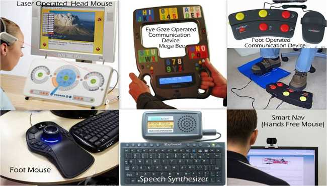 Assistive devices for speech and communication