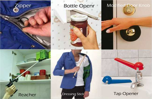 Assistive devices for Hand