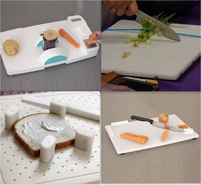 Assistive devices used in Kitchen